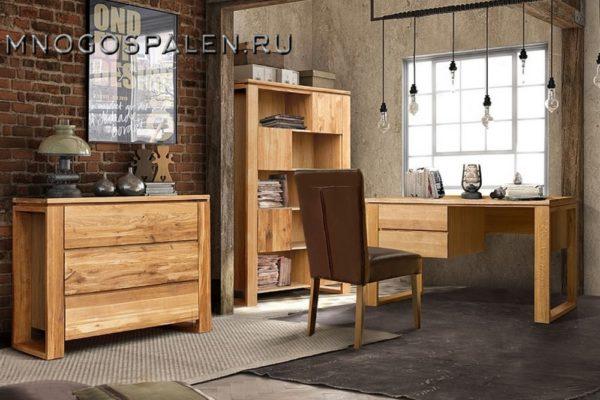 Кабинет Берген купить в салоне-студии мебели Барселона mnogospalen.ru много спален мебель Италии классические современные