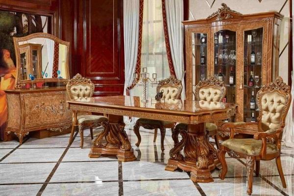 Гостиная Эсмеральда 3909D купить в салоне-студии мебели Барселона mnogospalen.ru много спален мебель Италии классические современные