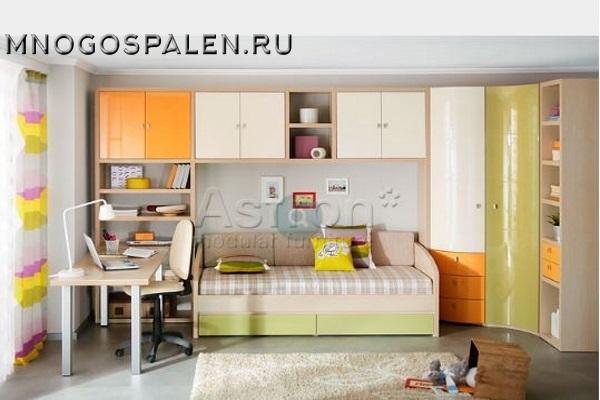 Мебель для подростков T106 Astron купить в салоне-студии мебели Барселона mnogospalen.ru много спален мебель Италии классические современные
