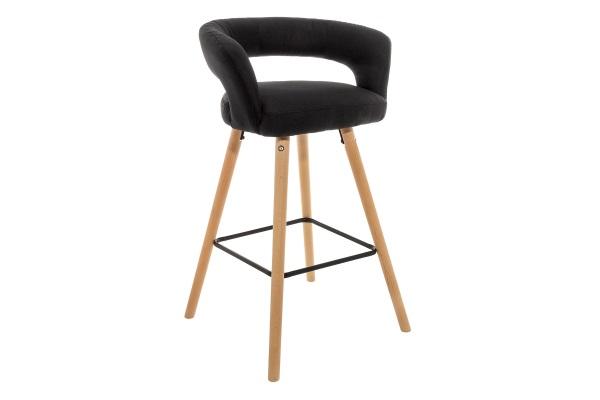 Барный стул Mars черный купить в салоне-студии мебели Барселона mnogospalen.ru много спален мебель Италии классические современные