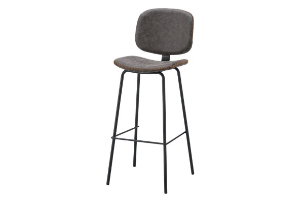 Барный стул CQ-5397 grey купить в салоне-студии мебели Барселона mnogospalen.ru много спален мебель Италии классические современные